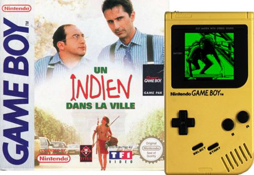 TF1 - Jeu Game Boy & Super Game Boy - Un Indien dans la Ville