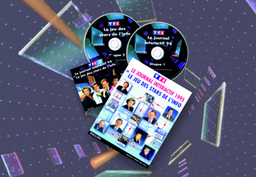TF1 - CD-I™ - Le Journal Interactif 1994 et 1995